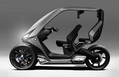 BMW C1+ on Behance