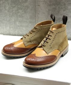 Tricker's by nano Crazy Boot
