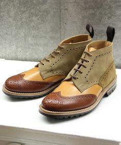 Tricker's by nano Crazy Boot    http://www.facebook.com/DressShoesandSneaker