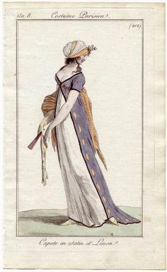 Maggie's Costume Wardrobe: Regency Sari gown