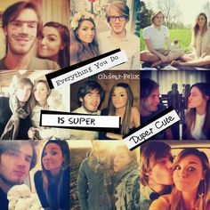 1000+ images about pewdiepie and cutiepiemarzia (: on ...