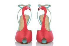 Charlotte Olympia Flamingo T-Bar Sandal