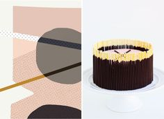 Design+to+Dish:+Chocolate+Pocky+Cake+by+MelissaBahen+for+Julep