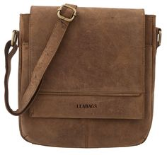 0dd1ba42df LEABAGS Washington genuine buffalo leather messenger bag in vintage style      You can find out more details at the link of the image.