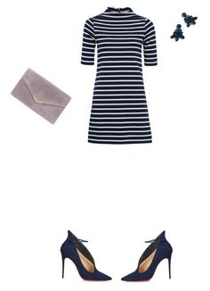 """""""Untitled #586"""" by aayushi3912 on Polyvore featuring French Connection, Christian Louboutin, Ralph Lauren, J.Crew, men's fashion and menswear"""