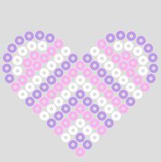 Valentine perler bead by beadmerrily, via Flickr