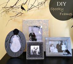DIY Spooky Frames