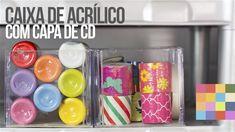 DIY - Caixa Organizadora 6 | Com caixa de CD