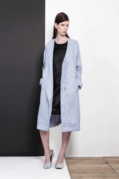 ARMANDO TAKEDA 2015-16AW LOOK05 #coat #dress