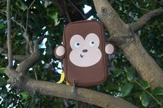 Super cute Monkey Bag! For all your diabetes supplies. Specially designed for kids with diabetes