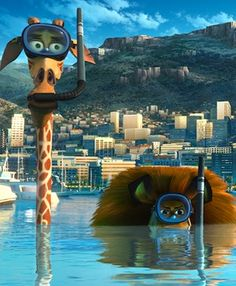 Madagascar 3 melman and alex the lion  @Natalie Jost Jobe YOUR ON PINTREST