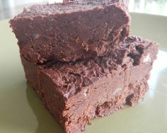 Black Bean Fudge:  Wheat-free, corn-free, dairy-free, Vegan