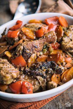 Jamaican-Style Brown Chicken Stew Recipe