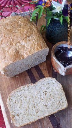Sandwichbrot mit Kokosmilch