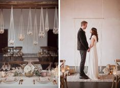 Mariage bohémien chic. Photo: Love Is A Big Deal