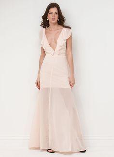Ethereal Beauty Chiffon Maxi Dress #beauty #chiffon #maxi #dress #gojane