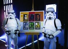 Correos dedica sellos a 'Star Wars' por su 40º cumpleaños