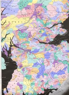 Map of the Southern and central portions of the ancient Scottish clan lands. Tartan, Scotland History, Scotland Map, Edinburg Scotland, Highlands Scotland, Scotland Castles, Skye Scotland, Scottish Highlands, Old Maps