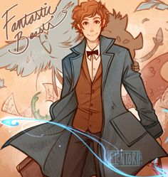 """""""You're an interesting man, Mr. Scamander. Just like your suitcase, I think there's much more to you than meets the eye."""" x"""