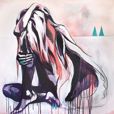 The cure for anything is salt water – tears, sweat, or the sea. http://hannahadamaszek.com/product/the-waters-way/ …