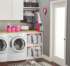 Thirty-One Laundry Room Ideas: Kari Larson - Independent Director with Thirty One Gifts www.mythirtyone.com/KariLarson