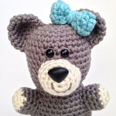 My amigurumi crochet teddy bear is the perfect addition to your little one's nursery! Handcrafted using only the highest quality fabric and filled with premium hypoallergenic polyester poly-fil, this adorable teddy bear is the ideal plush toy for children!   Whether you're shopping for the perfect gift for baby, a cuddly addition to your nursery décor, or a delightful surprise for your little one, this charming crochet teddy bear is absolutely perfect. Handcrafted, soft crochet toys provide…