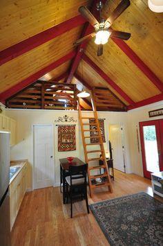 Kanga Cottage Cabins Backyard OfficeGuest HousePool HouseArt