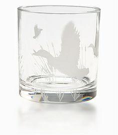 Audubon Crystal Glasses by Brooks Brothers