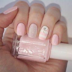 The top 7 most popular summer nail polish colors 2020 Shellac Nail Designs, Shellac Nails, Gel Nail Art, Nail Polish, Cute Nail Art, Cute Nails, Pretty Nails, Fancy Nails, Pink Nails