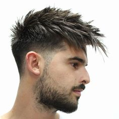 45 Trendy Spiky Hairstyles For Men Guide) Spiky Hair Long Fringe – Best Spiky Hairstyles For Men: Cool Spiky Hair, Cuts and Styles – Short, Medium, Long Spiky Haircuts Mens Hairstyles Fade, Undercut Hairstyles, Haircuts For Men, Fall Hairstyles, Funny Hairstyles, Men's Haircuts, Popular Haircuts, Men's Hairstyles, Hairstyle Ideas