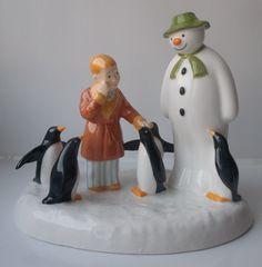Boxed Coalport Snowman Figure Penguin Pals, £46.99 http://www.ebay.co.uk/itm/Boxed-Coalport-Snowman-Figure-Penguin-Pals-/251891674867