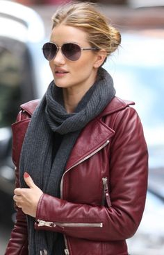 """Aviator sunglasses balance out the """"heavier"""" fashions of Fall....scarves, sweaters, coats"""