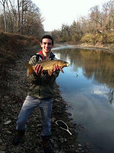 C&O Canal Carp fishing in the Winter