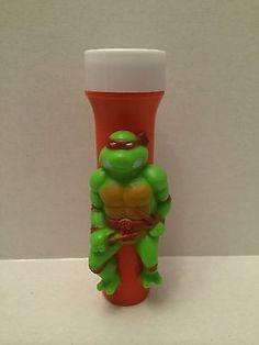 (TAS001109) - Teenage Mutant Ninja Turtles Used Flash Light - Raphael