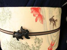 新作浴衣「マカロン」と金魚たち。 : 豆千代News