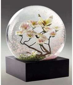 Perfect for a little girls room This website has many unique snowglobes for the perfect decor  http://coolsnowglobes.com/collections/the-arts