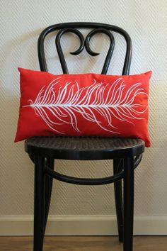 Feather Pillow - so simple yet beautiful