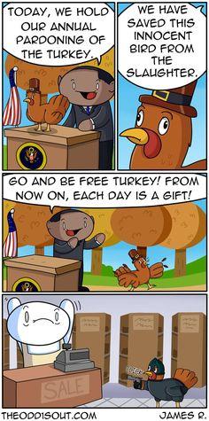 Theodd1sout :: Pardoned Turkey | Tapastic Comics - image 1