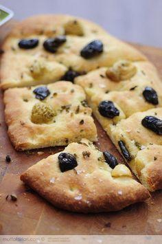 Biberiyeli Domatesli İtalyan Ekmeği – Focaccia | Mutfak Sırları – Pratik Yemek Tarifleri