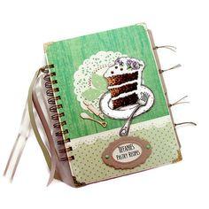 Pastry Theme Recipe Book Blank Recipe Book by PreciousLifeMoments