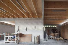 RAAMWERK, Stijn Bollaert · House and workshop for an artist