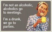 I'm Not An Alcoholic