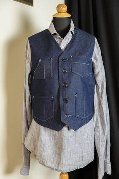 photographer's vest by MrsDarksidesArtWork on Etsy Vest, Trending Outfits, Unique, Jackets, Shopping, Clothes, Vintage, Dresses, Fashion