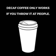 But seriously though you asked we listened! WEVE GOT DECAF ESPRESSO! Finally come get that decaf orange ginger cubano youve been wanting to try (or a latte americano etc).