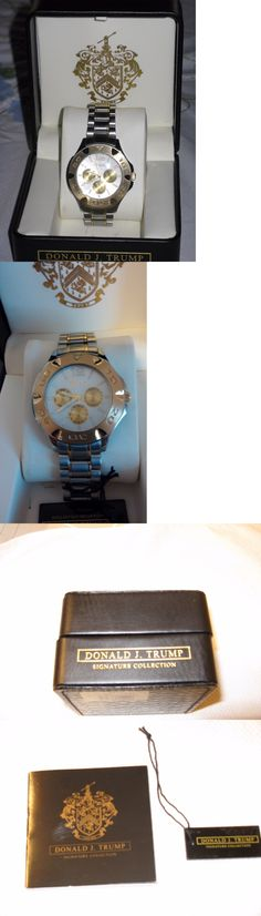 Other Mens Jewelry 177770: Donald J. Trump Signature Collection Watch -> BUY IT NOW ONLY: $500 on eBay!