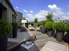 See photos of Balthazar Hotel & Spa in our Gallery. We are a luxury wellness and business hotel in the centre of Rennes, offering a restaurant, spa and meeting rooms. Hotel Et Spa, At The Hotel, Spa Luxe, French Trip, Luxury Spa Hotels, Hotel France, Modern Garden Design, Garden Projects, Garden Ideas