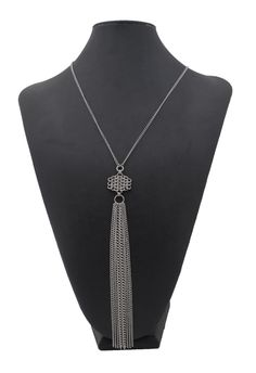 Chainmaille fringe pendant from Couture Armour.