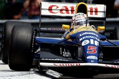 Nigel Mansell  Williams - Renault  Monaco 1992