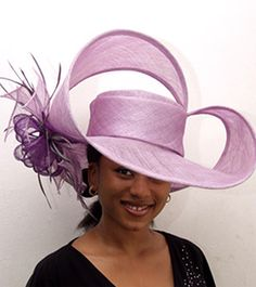 Beautiful Royal purple color hat!