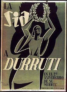 La SIA a Durruti en el 2.º aniversario de su muerte Editor:Solidaridad Internacional Antifascista. Consejo Regional de Cataluña. Secretaría de Propaganda Imprenta:Relieves Basa y Pagés, I.G. y R.C. Fechas:1938
